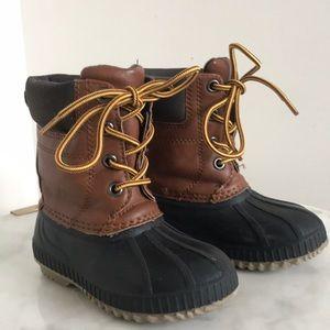 Gap Kids thinsulate duck snow boots